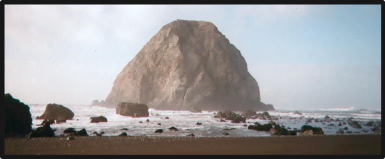 Sugar Loaf Rock, on California's Lost Coast